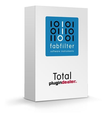 Fabfilter Totalbundle 2021 |  Vst Au Aax | Win Mac | Retail