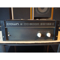 Amplificador Crown Dc-300a Series Ii No Rotel Sansui Bowers