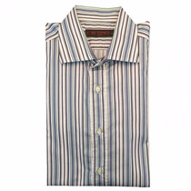 Etro Milano Camisa Sport L Grande Nueva Original $6800msrp