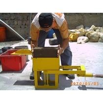 Kit Proyecto Maquina Ladrillos Ecológicos Plano Adobe Prensa