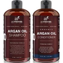 Art Naturals Shampoo Y Acondicionador Moroccan Argan Oil