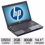 Muchas Laptop Hp Core 2 Duo + 2gb + Hd80gb +wifi Rapida !!