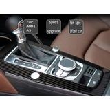 Embellecedor Audi A3 Consola Central Fibra Carbono 2 Botones
