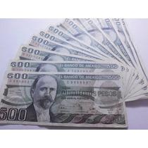 Un Billete 500 Pesos Madero Condición Usado