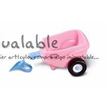 Remolque Para Niños Color Rosa Litte Tikes