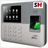 Reloj Checador Huella Digital Biometrico Usb Asistencia Lx50
