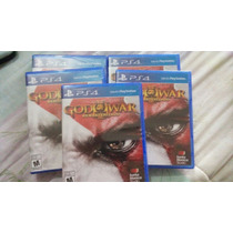 God Of War 3 Remasterizado Nuevo Fisico Ps4 $349