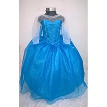 Disfraz Vestido Elsa Frozen Princesa