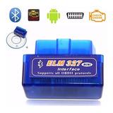 Escaner Automotriz Obdii Obd2 Bluetooth Elm327 Envio Gratis