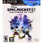 Ps3 Disney Epic Mickey The Power Of Two En 3d Nuevo