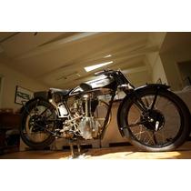 Lienzo Tela Motocicleta Norton 1929 60x90 Cm, Poster