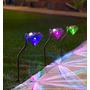Oferta Set De 2 Lampara Solar Jardín Betterware Cambia Color