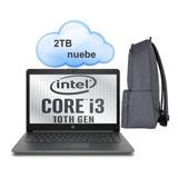 Laptop Hp 8gb Wifi Delgada Ligera Ultima Generación Notebook Desc Especial