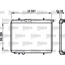 Radiador Peugeot 206 1.6 C/a Valeo Frances