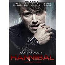 Hannibal , Temporada 3 Tres Serie Tv Preventa Dvd + Digital