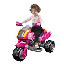 Motocicleta Motorizada Sable Color Rosa Con Luz