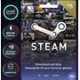 Tarjeta Steam Gift Card 5 D¿lares Usd - C¿digo Digital