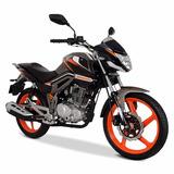 Moto Italika Fiera 250 Grafito / Naranja