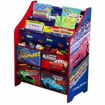 Organizador De Libros Y Juguetes Disney Cars