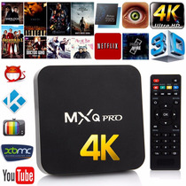 Smart Tv Android Tv Box Caja Mxq Pro Plus® 8gb Full Hd Wifi