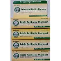 4 Triple Antibiótico Ungüento Infección Crema Dr. Sheffields