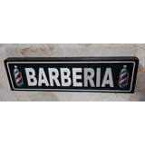 Barberia Cuadro Cartel Señalamiento  Barber Shop Peluqueria