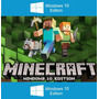 Minecraft Windows10 Pc Codigo Entrega Inmediata+ Regalo