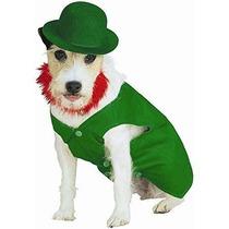 Disfraz Para Perro Leprechaun Irlandés De Vestuario Para Ma