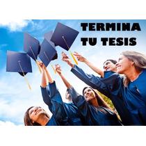 Corrección De Tesis Tesinas Monografías Proyectos