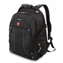 Swissgear Laptop Computer Backpack Sa3118 (black/blue) Fits
