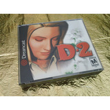 D2 Sega Dreamcast Como Nuevo Impecable Completo Con Estuche