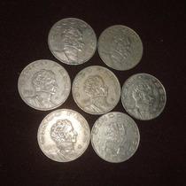 Monedas 5 Pesos Victoria Lote 1971 A 1978 Todas Las Fecha
