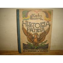 Antiguo - Historia Patria - Justo Sierra - 1922
