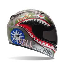 Casco Bell Para Motocicleta Vortex Flying Tiger