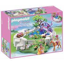 Set Playmobil Lago De Cristal Princesas Colección Princess