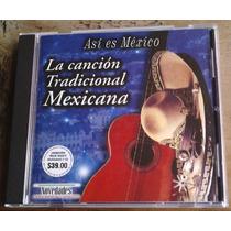 La Cancion Tradicional Mexicana Cd Especial Ed Año 2000 Vmj