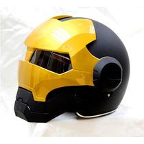 Casco Masei 610 Atomic-man Para Motociclista Entrega Inmedia