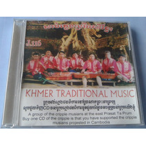 Khmer Traditional Music Cambodia Cd Raro Casero Original