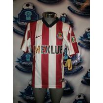 Majestuoso Jersey Chivas Retro Reedición Nike Local 1997