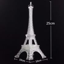 Centro De Mesa Torre Eiffel Paris Con Luz Led