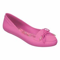 Mel Plum Zapato Flat Dama Balerina Rosa Mel By Melissa