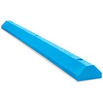 Tope De Plastico Para Estacionamiento Color Azul 1.82 Mts