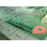 Mapa Para Rascar De Pueblos Mágicos