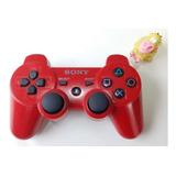 Control Inalambrico Original Rojo Ps3 Play Station