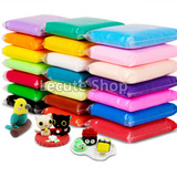 12 Foamy Moldeable Colores Surtidos 20gr Plastilina Play Doh