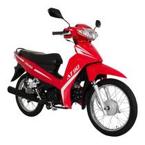 Moto Italika At 110 Roja