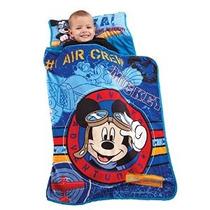 Niño Laminado Nap Mat Flight Academy De Disney Mickey