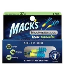 Shooters Sellos Del Oído Del Oído De Mack Tapones 1 Par