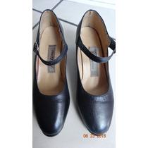 Zapatos De Danza Para Dama No.23 Color Negro Buen Estado