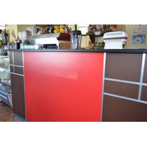 Barras Cafeteria Crepas, Mesas Y Sillas